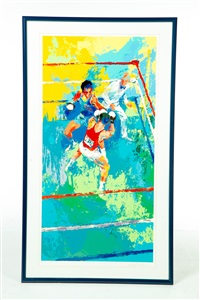 boxers by leroy neiman