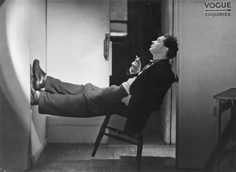 dylan thomas vogue studio by lee miller