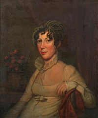 portrait of elizabeth morris baker by charles willson peale