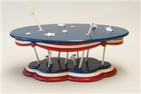 fourth of july table by peter kramer