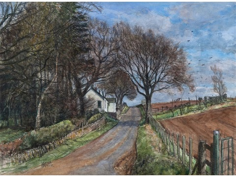 thriepley near lundie angus by james mcintosh patrick