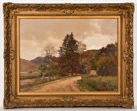 the long, winding road in argyll by george houston