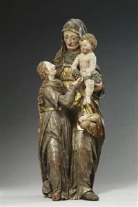 heilige anna selbdritt by hans morinck