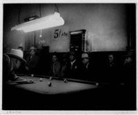 5 cents a cue, north beach, san francisco by william heick