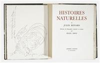 jules renard: histoires naturelles (bk w/1 work, 4to) by hans erni