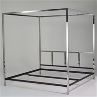 king-sized four poster bed by pace manufacturing (co.)