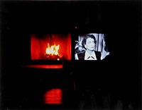 joan crawford's eyes on fire, thanksgiving, new jersey by nan goldin