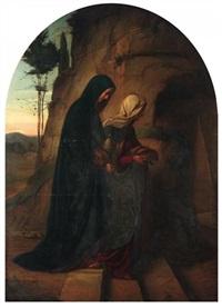 die beiden marien am grabe christi by philipp veit