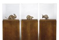 misfits (triptych) by thomas grünfeld