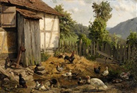 the hen-coop by carl jutz the younger