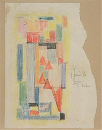 composition (study) by jozef peeters