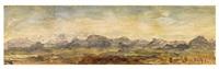 landscape study by oswald achenbach