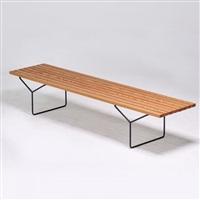 slat bench by harry bertoia