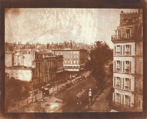 the boulevards of paris by william henry fox talbot