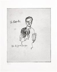 1/2 køpcke; 1/2 kippenberger by martin kippenberger