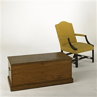 blanket box (+ armchair; 2 works) by truman bliss