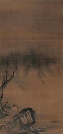 landscape and character by ma yuan