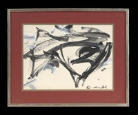 abstract by elaine de kooning