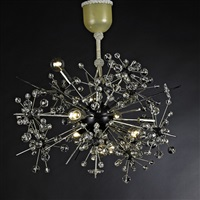 radiant chandelier by hans harald rath