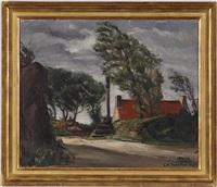 paysage de bretagne by georges hanna sabbagh