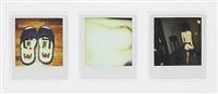 polaroid triptych from the polanographs-series by nobuyoshi araki