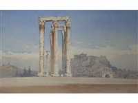 temple of zeus at olympia by angelos giallina