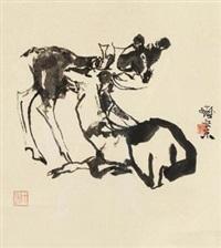 鹿 by cheng shifa