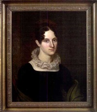 portrait of mrs. gerardus by john vanderlyn