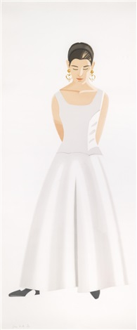 wedding dress by alex katz