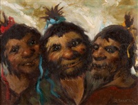 drei eingeborene by daniel sabater y salabert