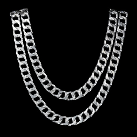 necklace 18 k white gold