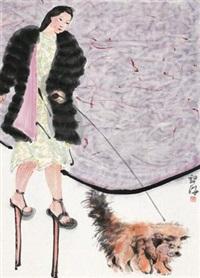 遛弯 by liang ying