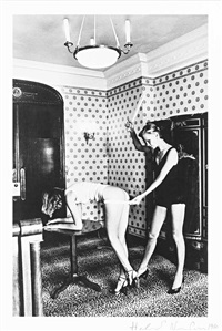 interior (nice 1976) by helmut newton