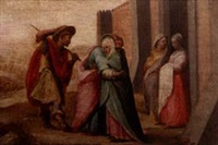 joachim and anna under the golden gate by domenico beccafumi