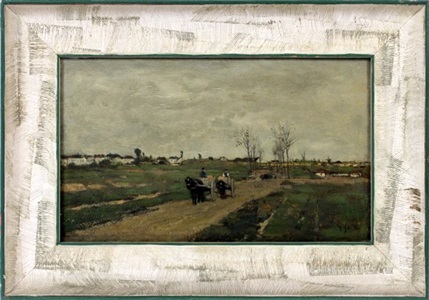a road near brussels by anton mauve