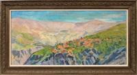 qadisha valley by saliba douaihy