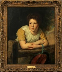 study of a girl by john opie