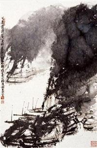 天高露清山空月明 by cui ruzhuo