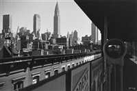n.y. - the elevated and me by ilse bing
