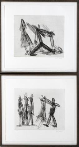 untitled 2 works by joel shapiro