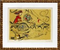 ile saint louis by marc chagall