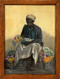 flower seller by elizabeth o'neill verner