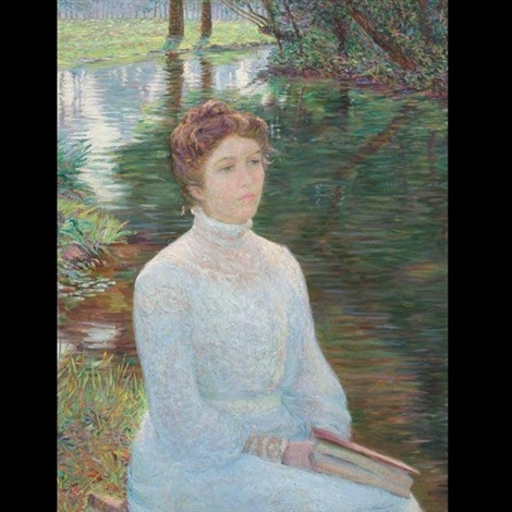 contemplation by lilla cabot perry
