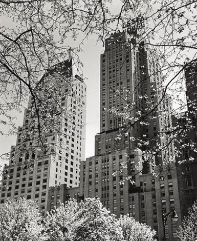 ny central park south by andreas feininger