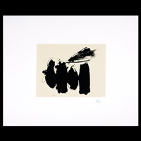 spanish elegy (from octavio paz suite) by robert motherwell