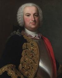 portrait des johann bernhard kilchberger by johann rudolf daelliker
