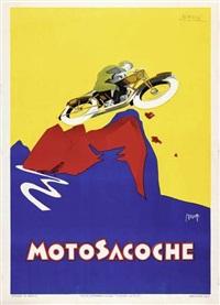 motosacoche by marcello nizzoli
