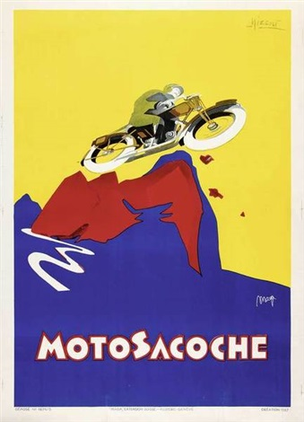 motosacoche by marcello nizzoli