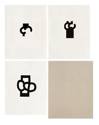 yves bonnefoy: le miracle du feu (portfolio of 3) by eduardo chillida