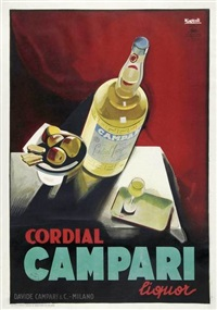 cordial campari (in 2 parts) by marcello nizzoli